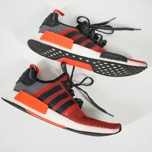 Adidas Men's NMD Sneakers Red and Black Size 10.5